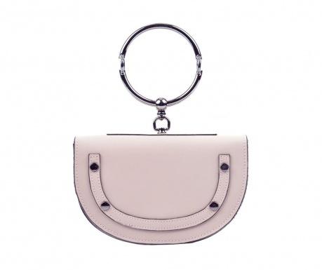 Kabelka clutch Yvonna Powder Pink