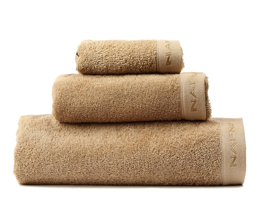 Sada 3 ručníků Casual Sand