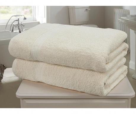 Sada 2 ručníků Royal Kensingon Cream 90x140 cm