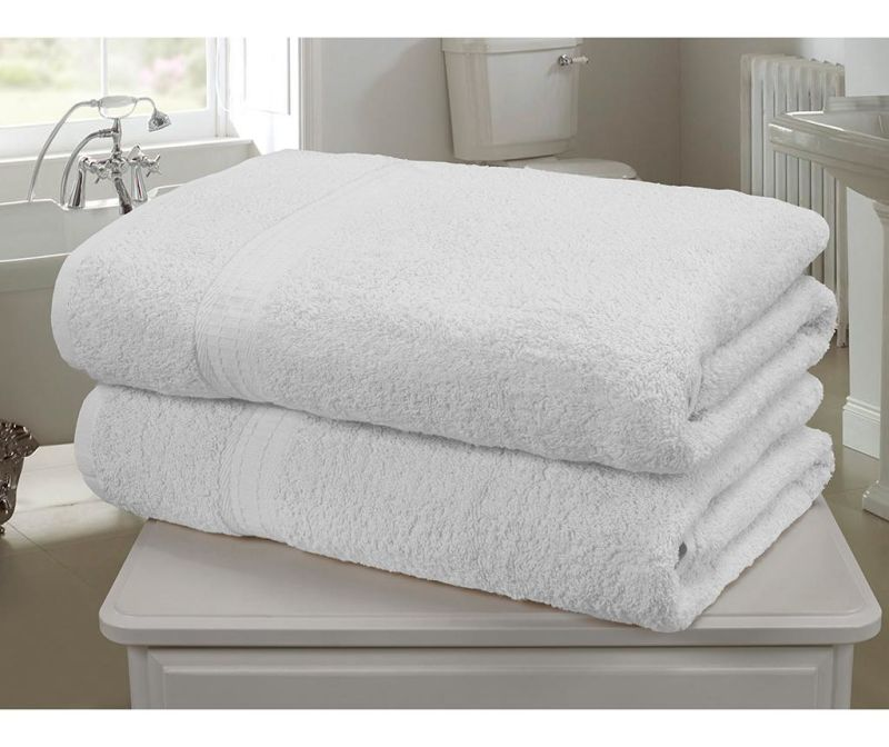 Set 2 kupaonska ručnika Royal Kensington White 90x140 cm
