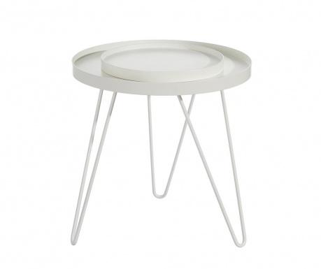 Saloon Asztalka szervírozó tálcával M