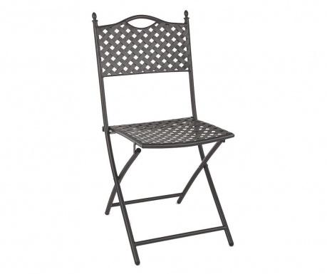 Venkovní skládací židle Jenny Dark Grey
