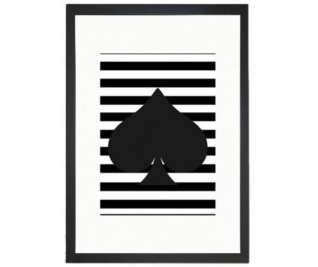 Spades Kép 24x29 cm