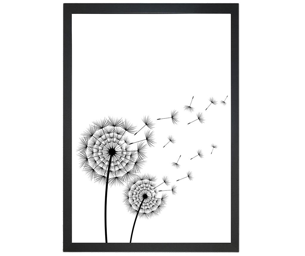 Blowing Dandelion Kép 24x29 cm