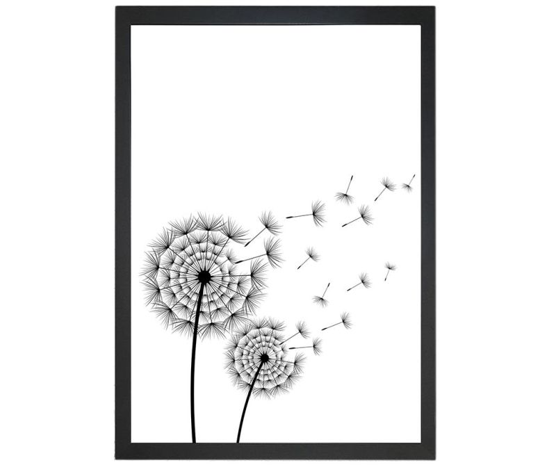 Slika Blowing Dandelion 24x29 cm