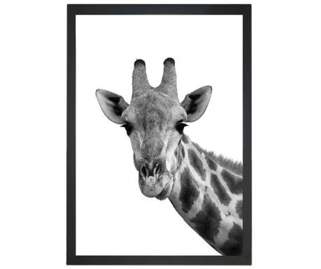 Obraz Giraffe Portrait 24x29 cm