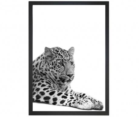 Lying Leopard Kép 24x29 cm