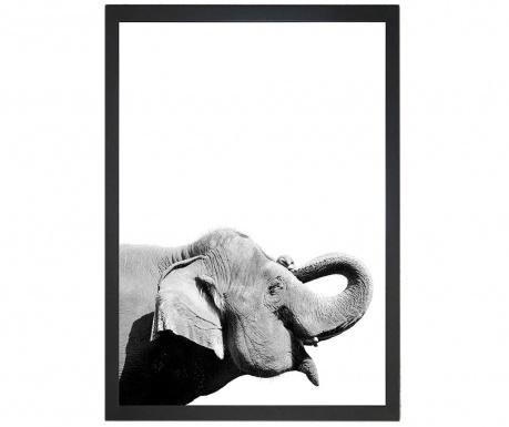 Damarion Elephant Kép 24x29 cm