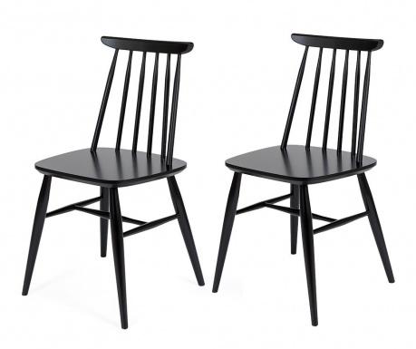 Sada 2 stoličky Aino Black