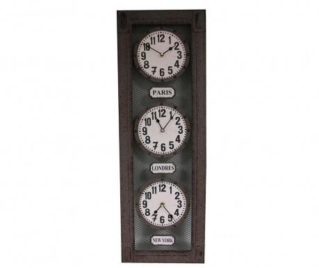 Nástěnné hodiny Triple