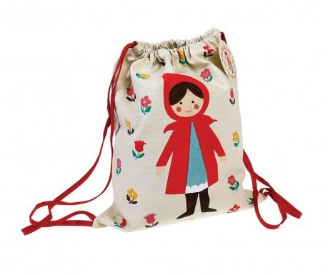 Σακίδιο τύπου σάκκος Red Riding Hood Mini