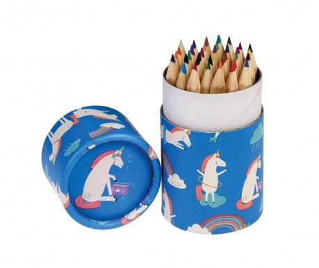 Σετ 36 ξυλομπογιές με θήκη Magical Unicorn