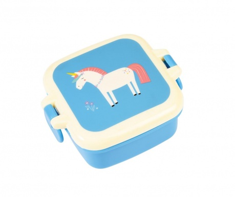 Κουτί αποθήκευσης τροφίμων  με καπάκι Magical Unicorn Mini
