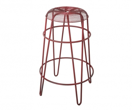 Barová židle Marveille Rouge