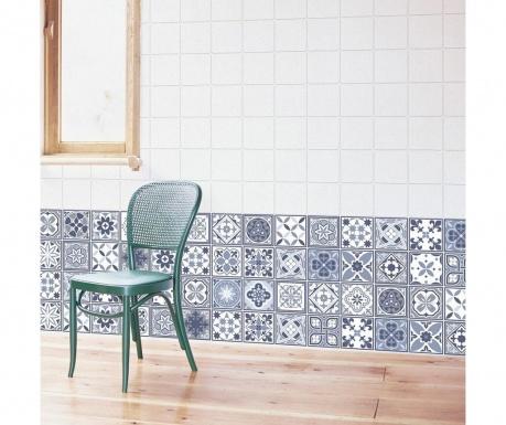 Комплект 24 стикера Lisbon Blue Wall