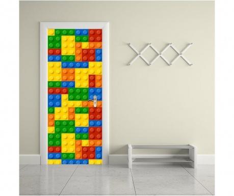 Стикер за врата Building Blocks