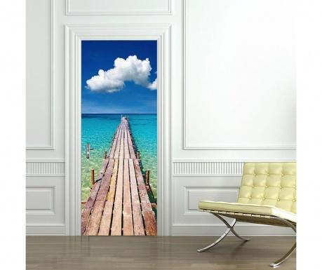 Стикер за врата Beach Door