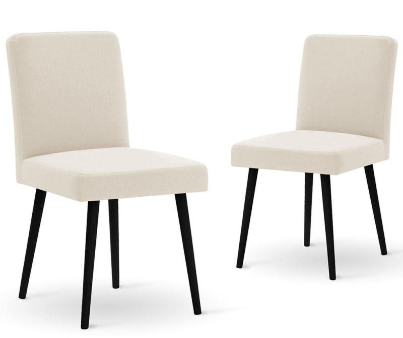 Set 2 scaune Fragrance Cream Noir