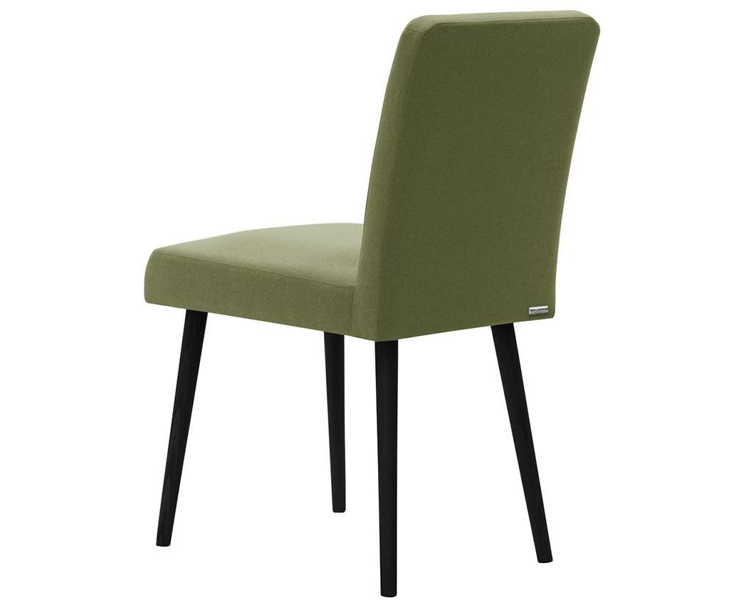 Set 2 scaune Fragrance Green Noir