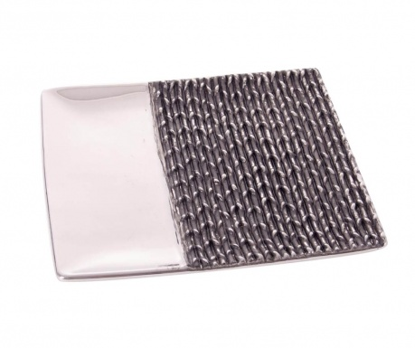 Patera dekoracyjna Equinoxe Braiding Silver