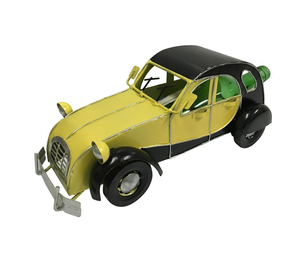 Držač za bocu Premium Vintage Car Yellow Black