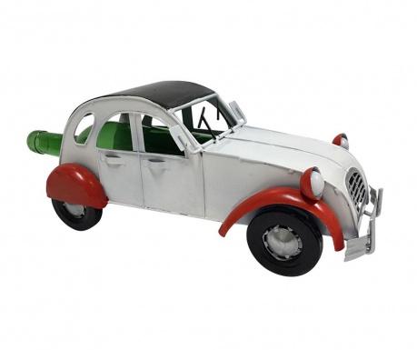 Držiak na fľašu Premium Vintage Car White Red