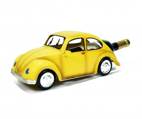 Stojak na butelkę Premium Car Yellow