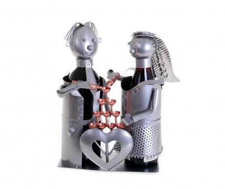 Stojak na butelki Forgeron Pyramid Couple