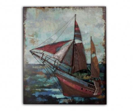 Nástenná dekorácia Beaux Arts Antique Boat