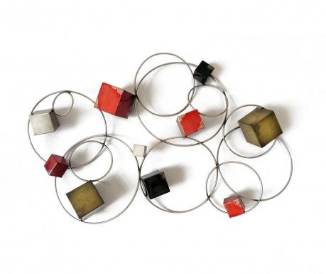 Nástenná dekorácia Beaux Arts Cubes and Circles