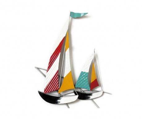 Nástenná dekorácia Beaux Arts Colorful Boats