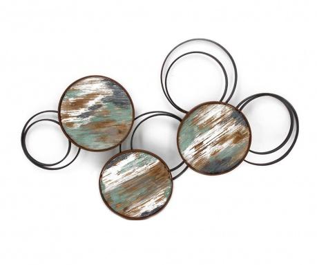 Nástenná dekorácia Beaux Arts Metallic Circles