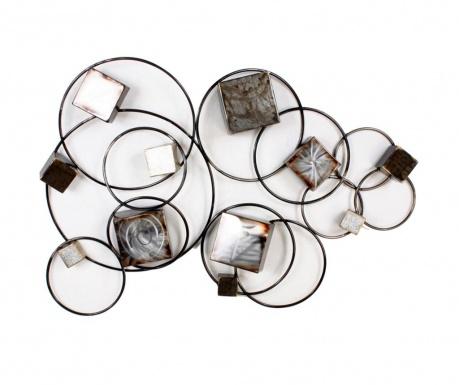 Dekoracja ścienna Art de Fer 3D Cubes