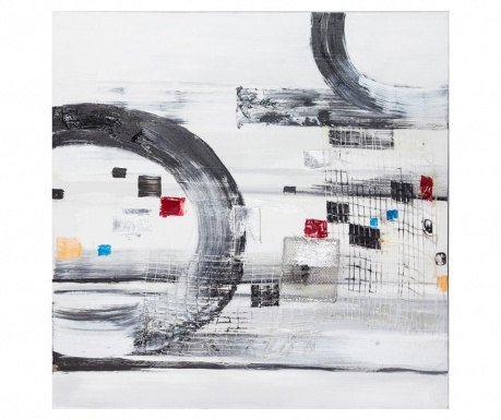 Obraz Gallery Abstract Circles 80x80 cm