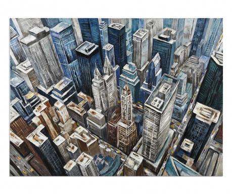 Obraz Gallery Rooftops 90x120 cm