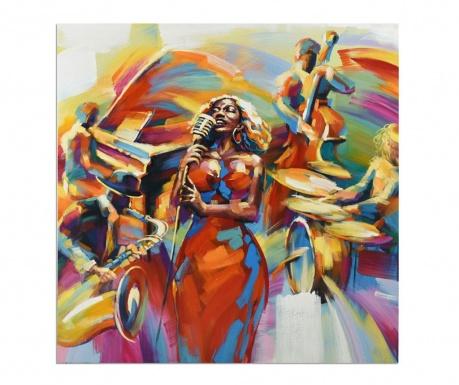 Obraz Gallery Orchestra Singing 100x100 cm