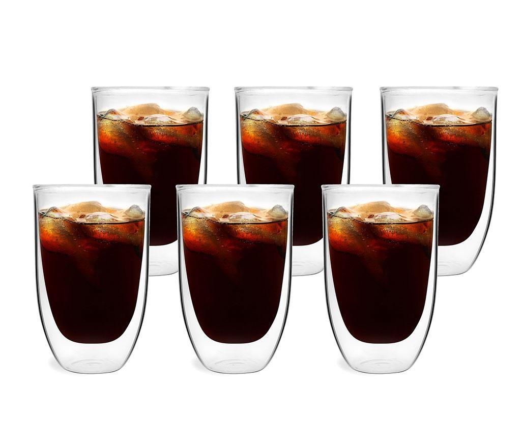 Set 6 pahare Preston 350 ml
