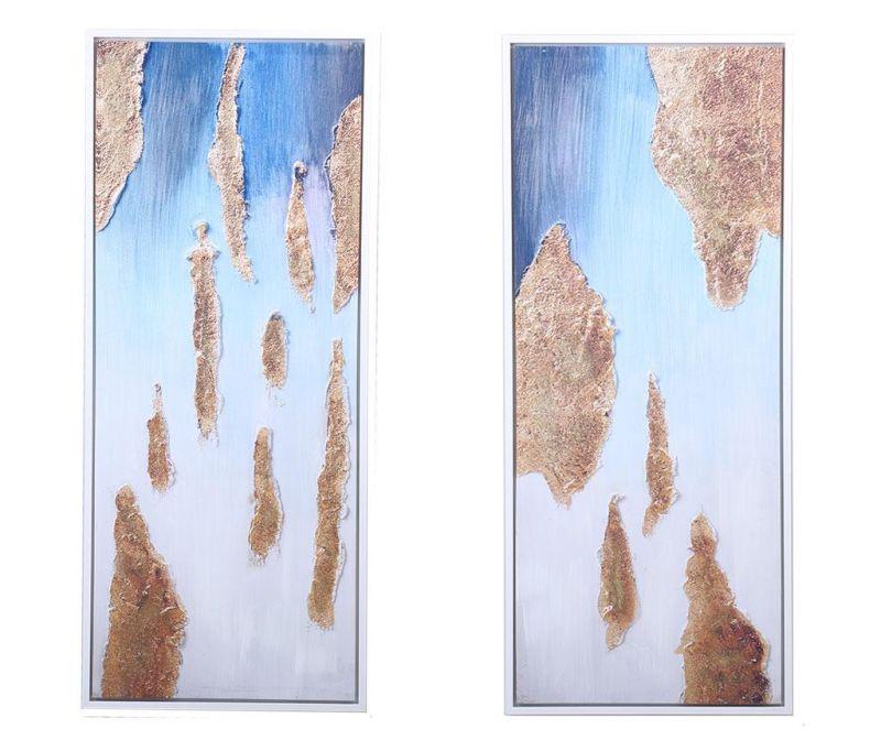 Set 2 tablouri Fatima 65x155 cm