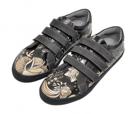 Γυναικεία παπούτσια Black Floral