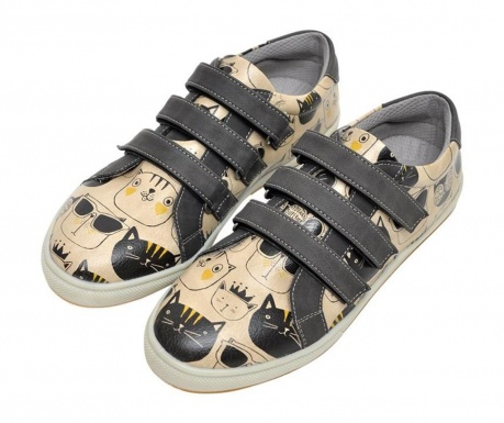 Ženske cipele Monochrome Cats Velcro