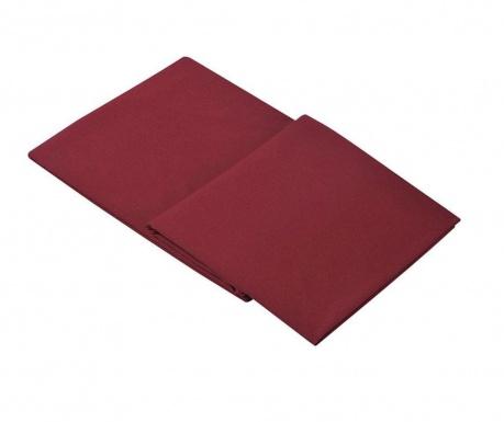 Posteľná plachta Percale Loryn Red Wine 270x310 cm