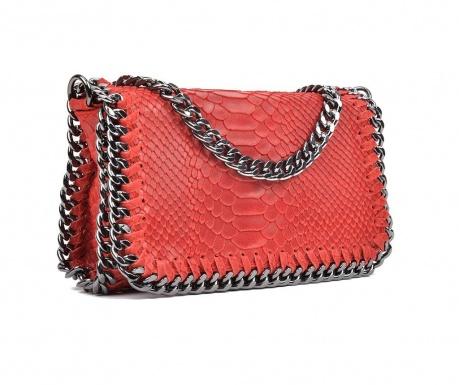 Kabelka clutch Irene Red