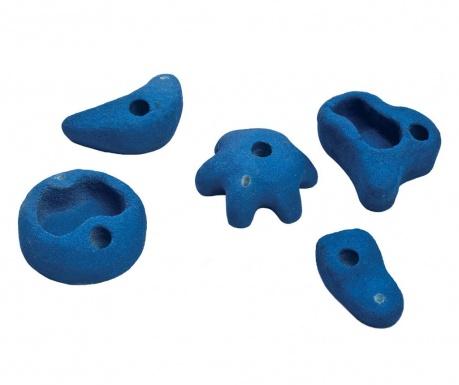 Medium Ascent Blue 5 darabos Mászókő szett gyerekeknek