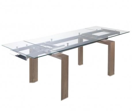 Rozkladací stôl Clear