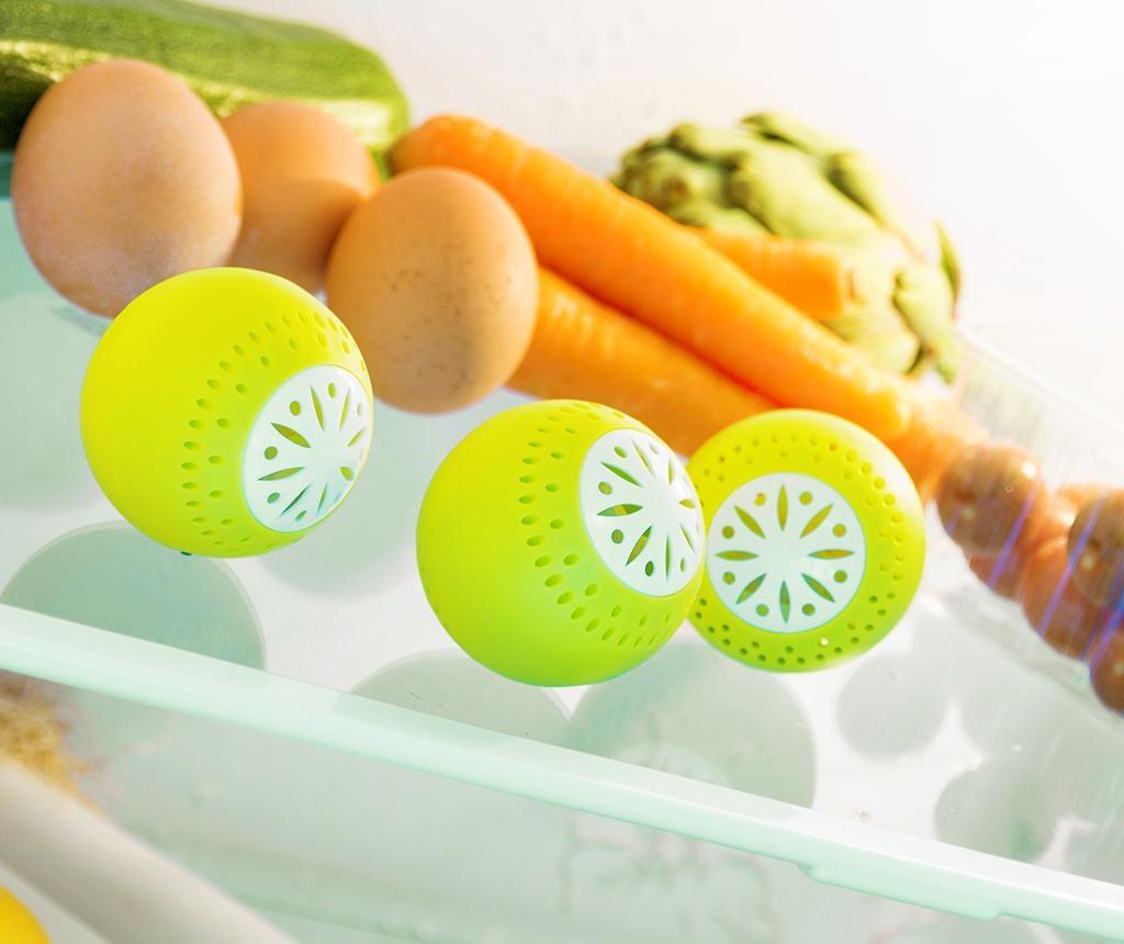 Set 3 osvežilnih kroglic za hladilnik Fresh