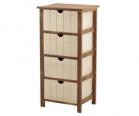 Шкафче с 4 чекмеджета David
