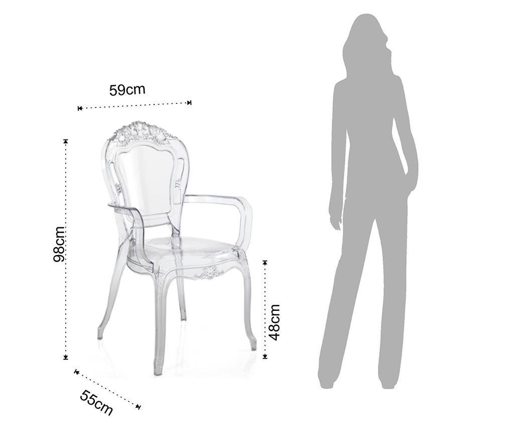 Sada 2 židlí Monaco Arms