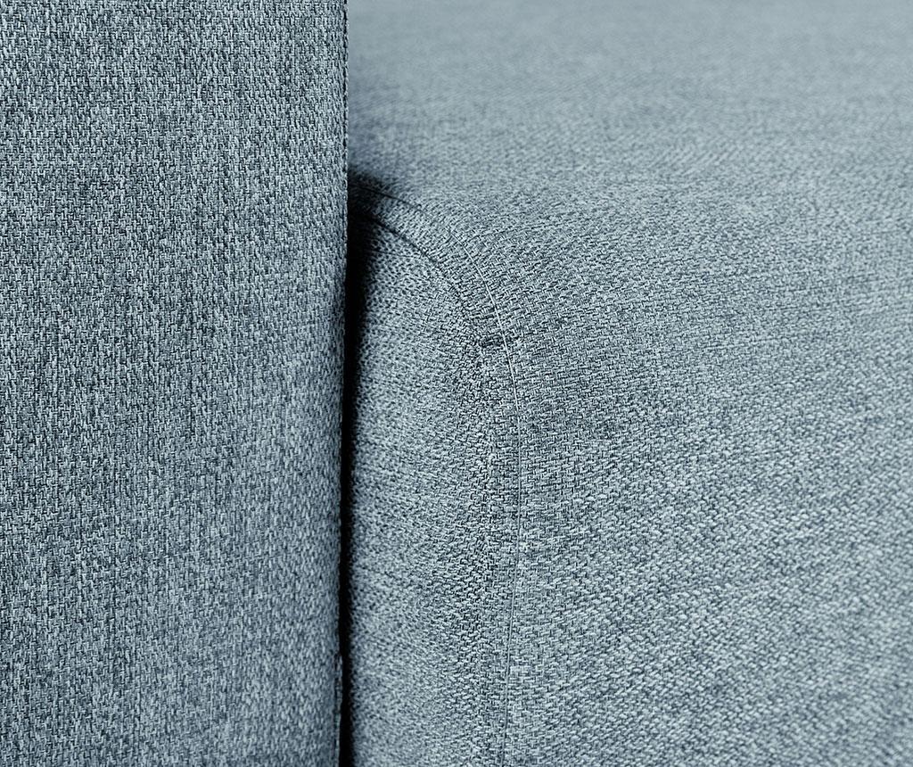 Canapea extensibila 3 locuri Giovanni Grey Blue