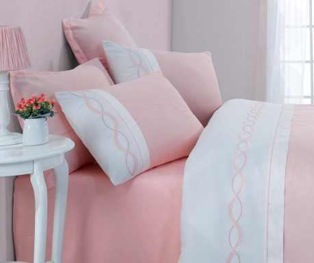 Спално бельо King Supreme Satin Solare Pink