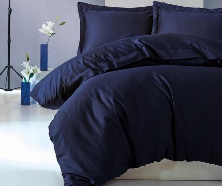 Спално бельо King Satin Supreme Elegant Dark Blue